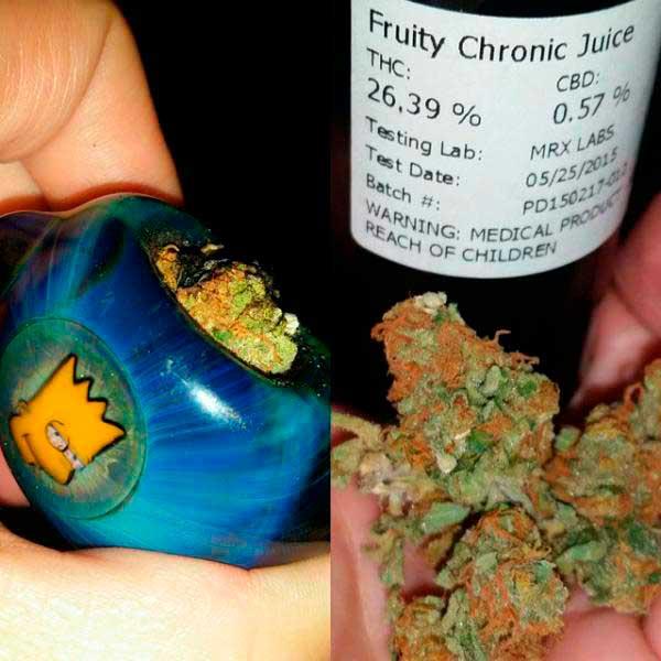 Fruity chronic juice
