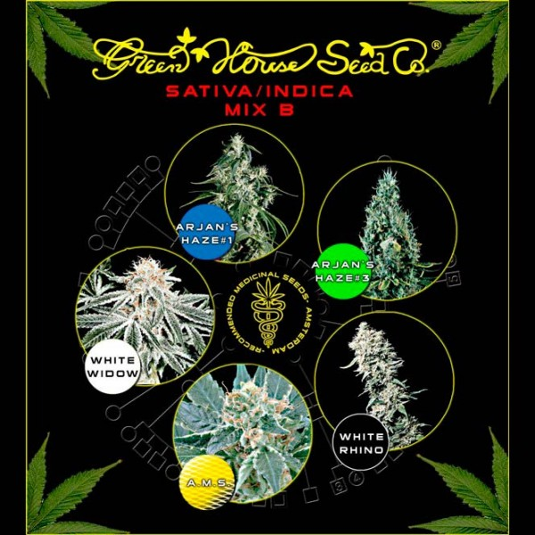 Sativa / Indica Mix B - Green House