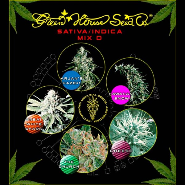 Mix - Sativa/Indica D - Green House