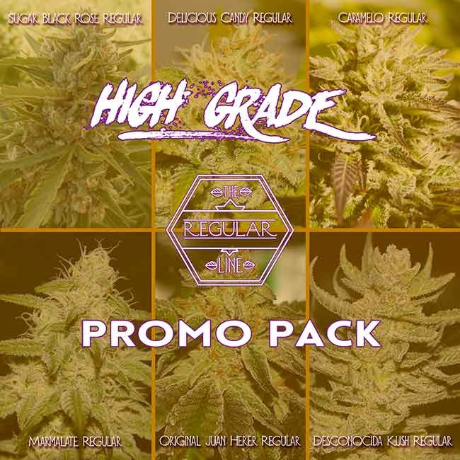HIGH GRADE REGULAR PROMO PACK - REGULÄR - Hanfsamen