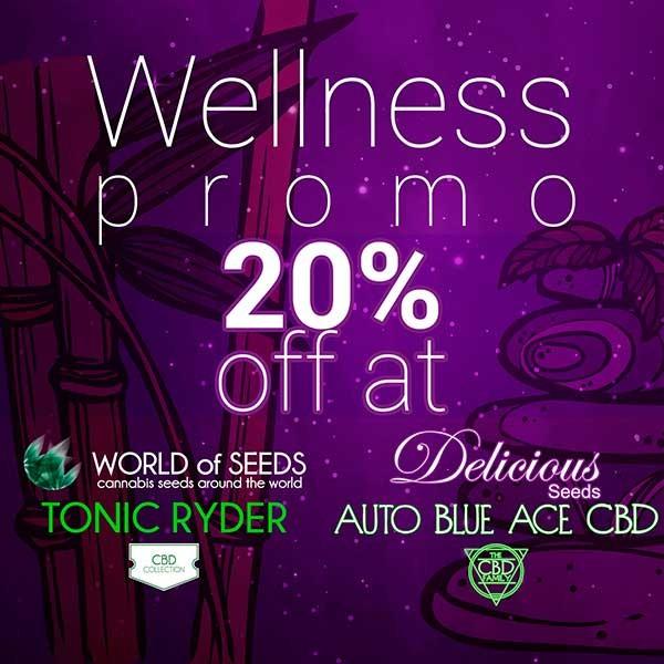Wellness Auto Pack - Auto Blue Ace CBD + Tonic Ryder - Semi - COLLEZIONE GOURMET