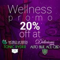 Acquistare Wellness Auto Pack - Auto Blue Ace CBD + Tonic Ryder