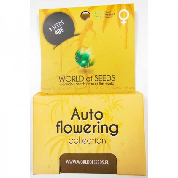 Autoflowering Collection - 8 seeds - World of Seeds