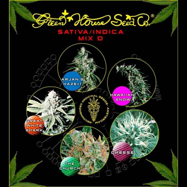 Mix - Sativa/Indica D - Green House