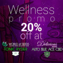 Wellness Auto Pack - Auto Blue Ace CBD + Tonic Ryder