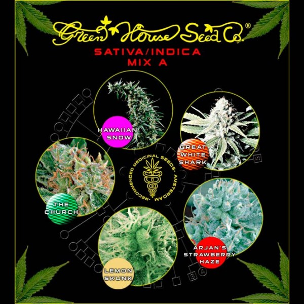 Sativa / Indica Mix A - Green House