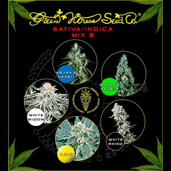 Sativa / Indica Mix B - Green House