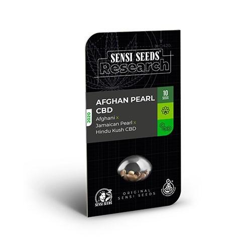 Afghan Pearl CBD Auto (Afghani x Jamaican Pearl x Hindu Kush CBD) - Sensi Seeds