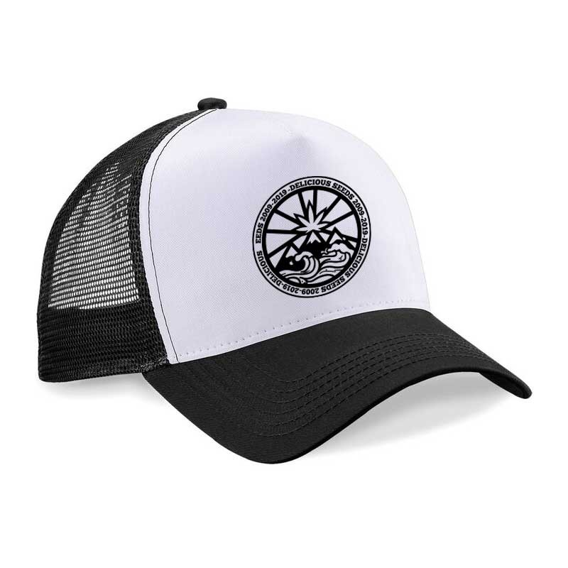 Black and White Cap - Merchandising - Graines