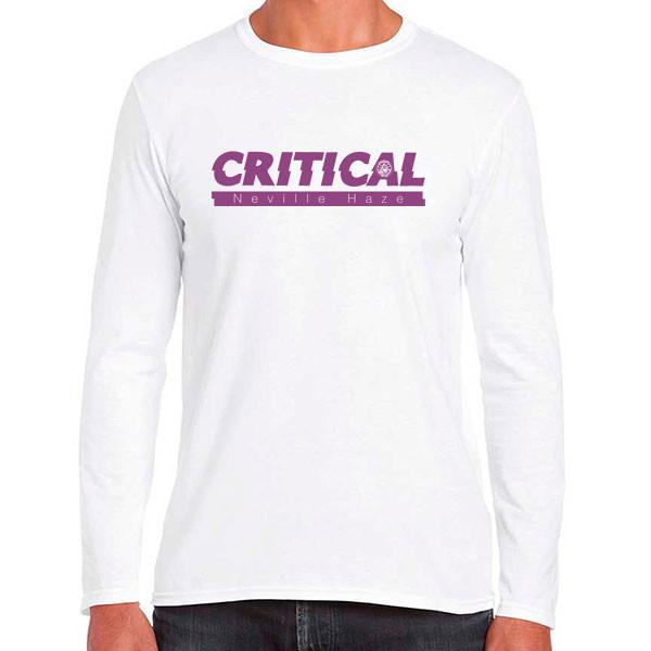Long Sleeve Shirt - Critical Neville Haze - Merchandising - Graines