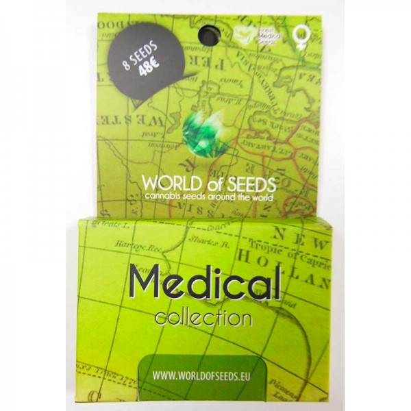 Medical Collection - 8 seeds - World of Seeds