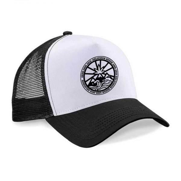 Black and White Cap -  -