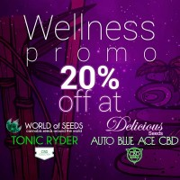 Comprar Wellness Auto Pack - Auto Blue Ace CBD + Tonic Ryder