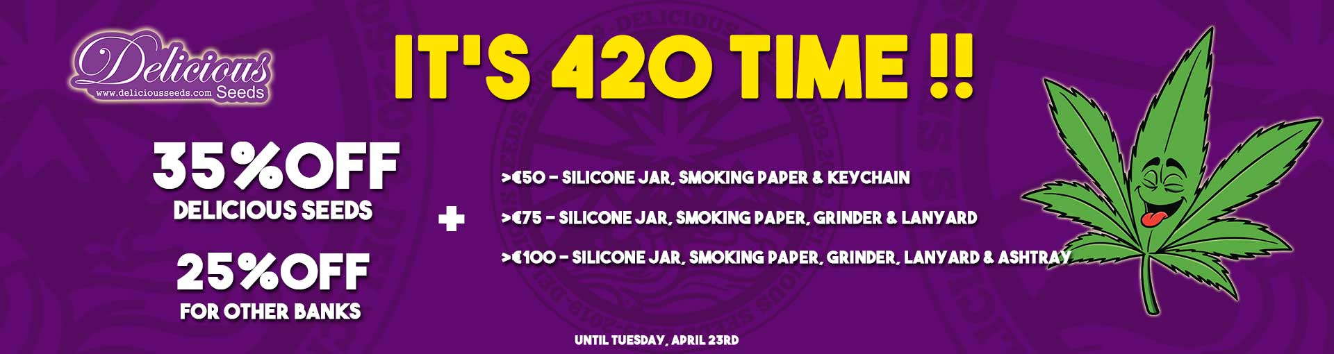 It's 420 Time